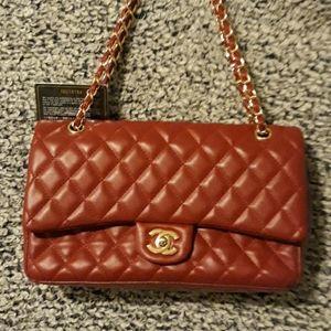 Womens coach handbag with authentication card